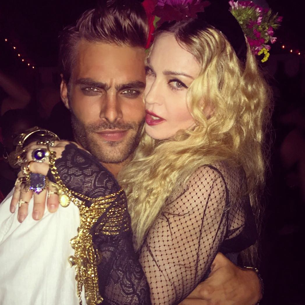 madonna birthday party1
