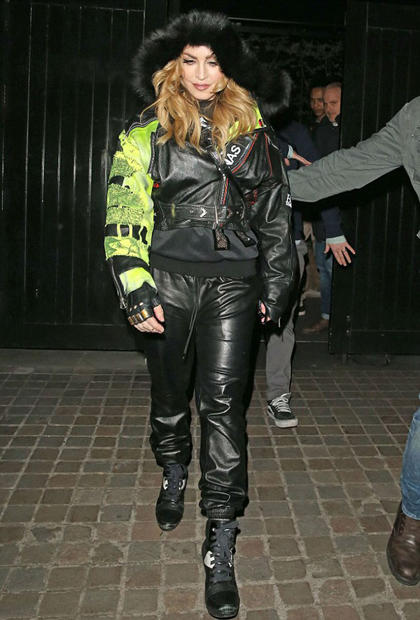 madonna_Chiltern Firehouse club_1