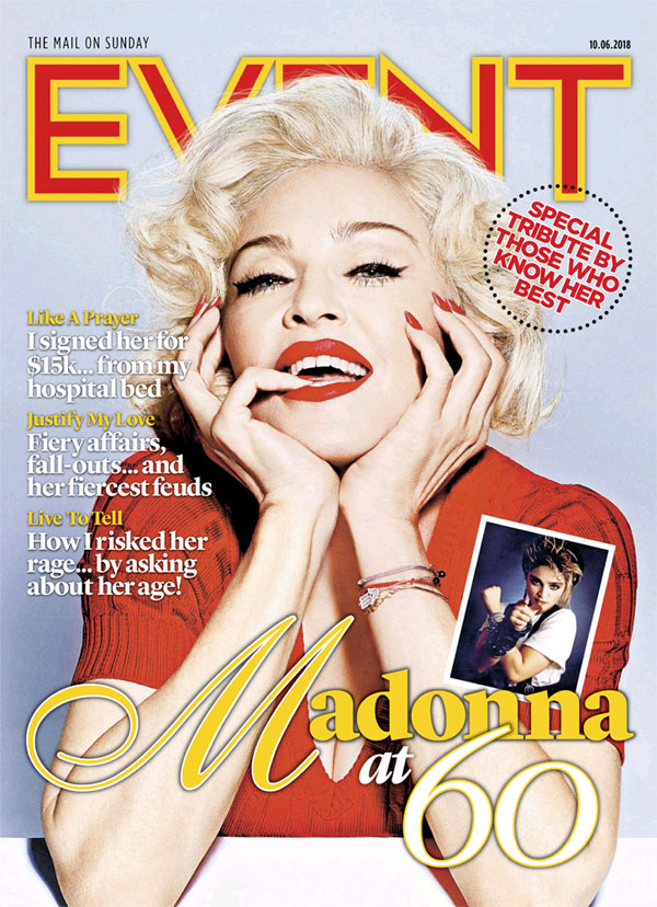 event magazine madonna