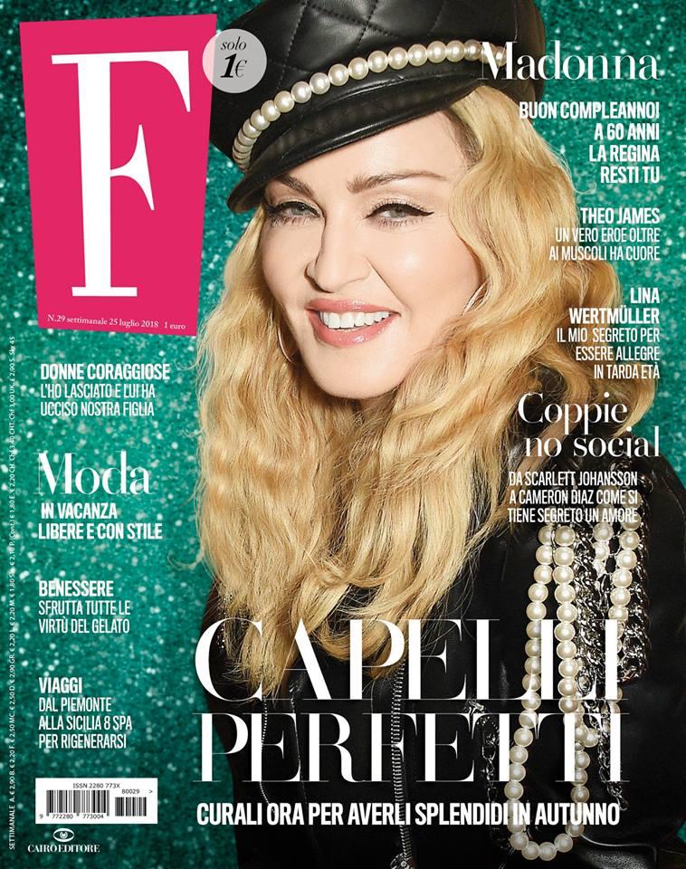 F Magazine Madonna