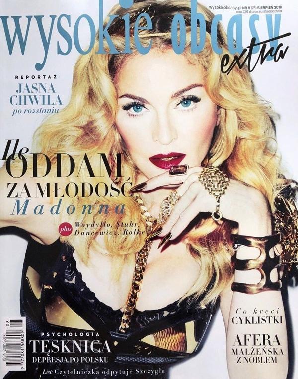 Madonna magazine Wysokie Obcasy