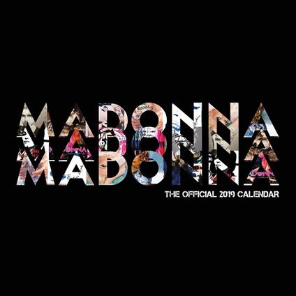madonna calendario ufficiale 2019