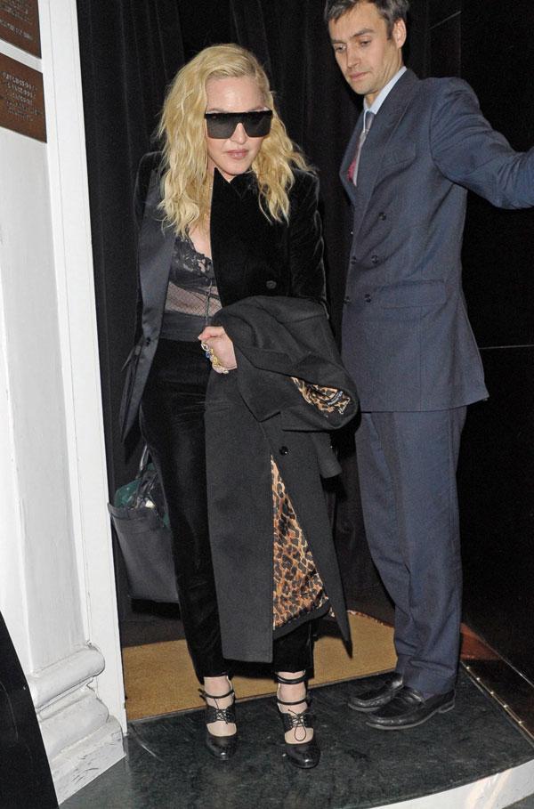 Madonna a Londra