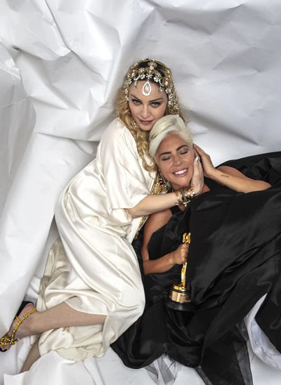 Madonna Lady Gaga Oscar After-Party 2019