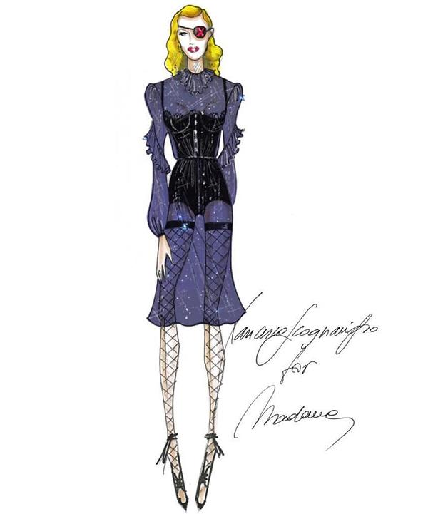 madonna-madame-x-tour-costume-francesco-scognamiglio