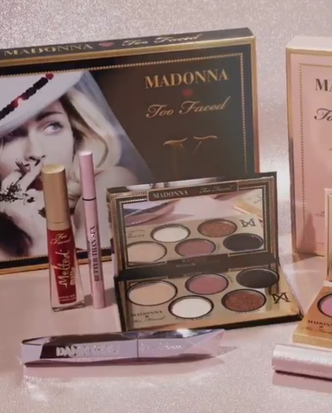 Madonna Too Faced