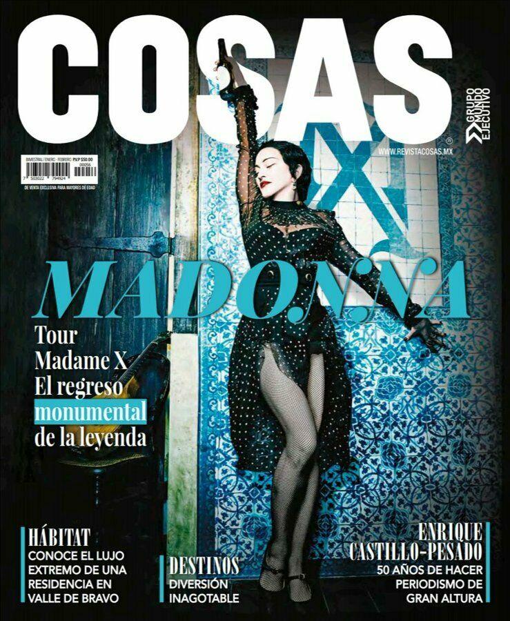 Cosas Magazine Madonna